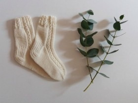 Knit_Merino_wool_baby_socks